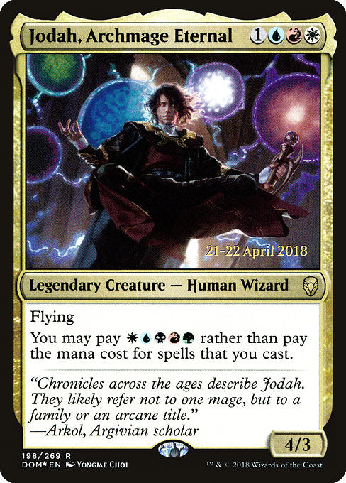 Jodah, Archmage Eternal [Dominaria Promos]