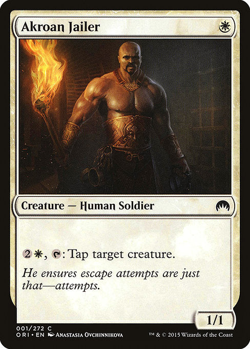 Akroan Jailer [Magic Origins]