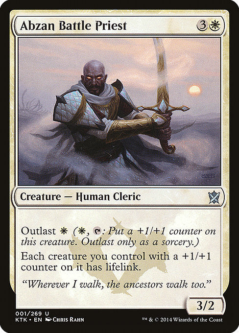 Abzan Battle Priest [Khans of Tarkir] | Guf