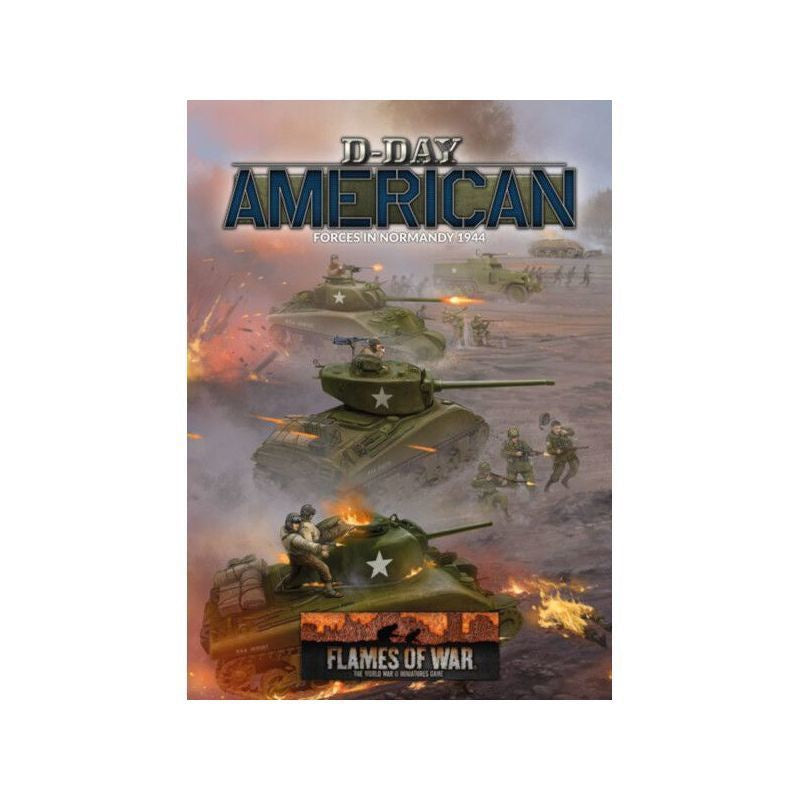D-Day Americans (TY 80p A4 HB) - Flames of War | Guf