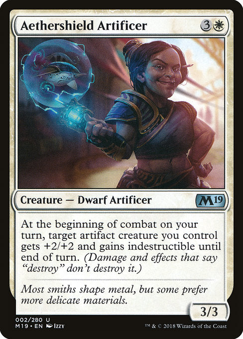 Aethershield Artificer [Core Set 2019] | Guf