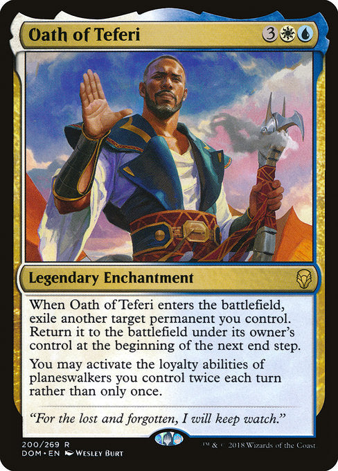 Oath of Teferi [Dominaria] | Guf