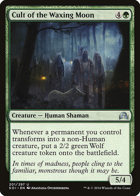Cult of the Waxing Moon [Shadows over Innistrad]