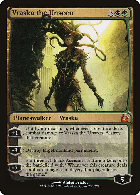 Vraska the Unseen [Return to Ravnica]