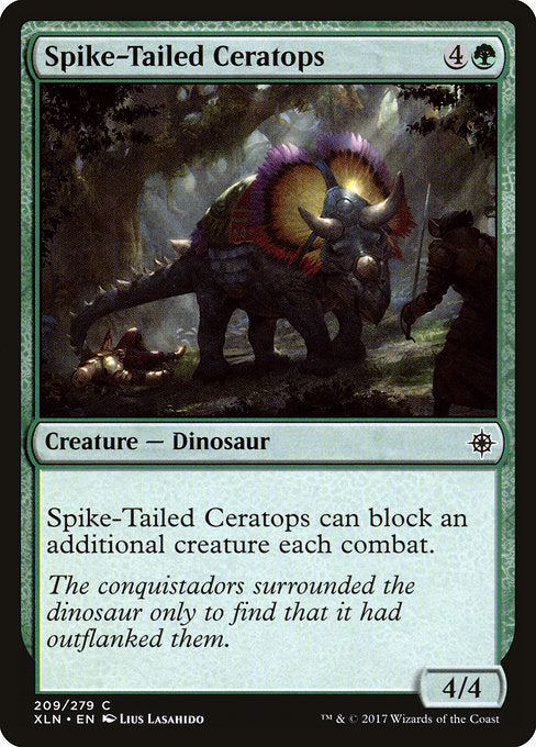 Spike-Tailed Ceratops [Ixalan] | Guf