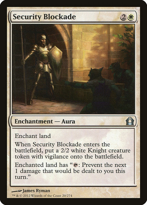 Security Blockade [Return to Ravnica] | Guf