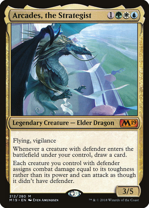 Arcades, the Strategist [Core Set 2019] | Guf