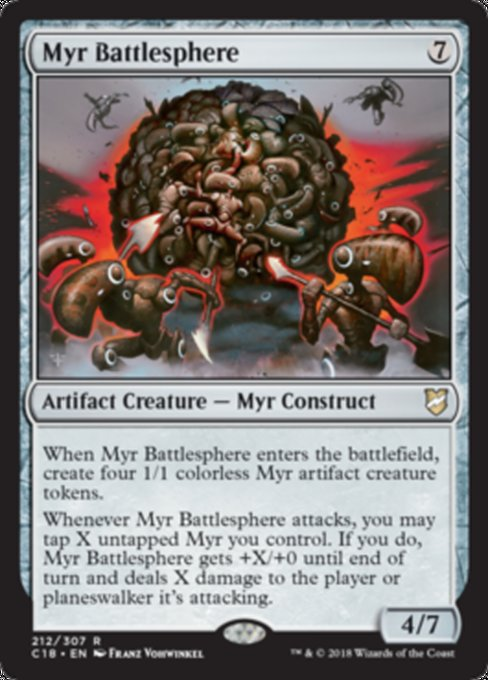 Myr Battlesphere [Commander 2018]