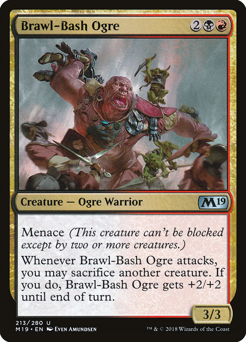Brawl-Bash Ogre [Core Set 2019] | Guf