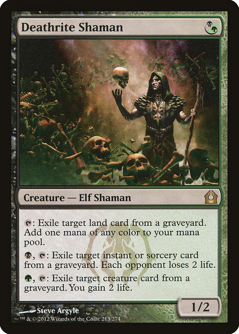 Deathrite Shaman [Return to Ravnica] | Guf