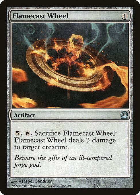 Flamecast Wheel [Theros] | Guf