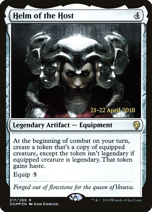 Helm of the Host [Dominaria Promos]
