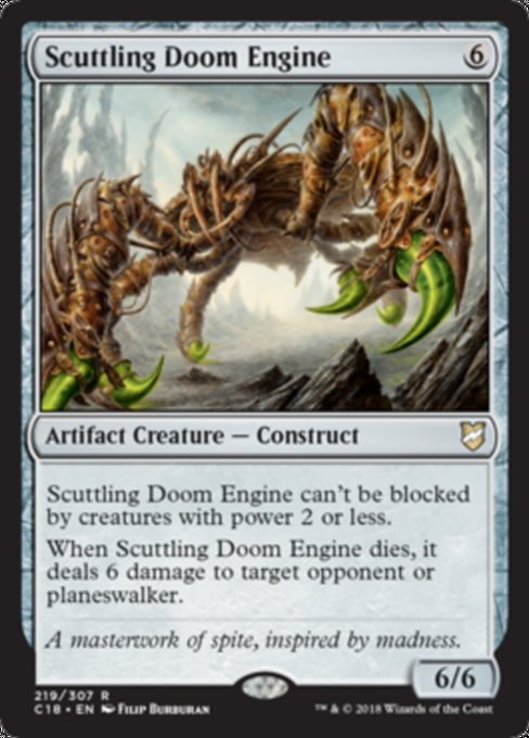 Scuttling Doom Engine [Commander 2018]