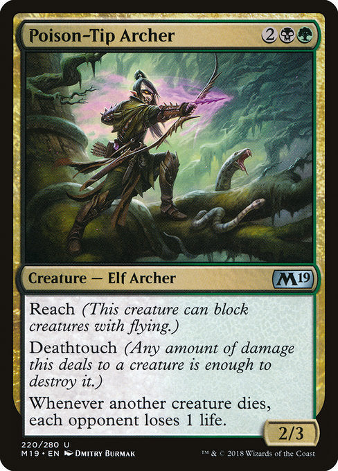 Poison-Tip Archer [Core Set 2019] | Guf