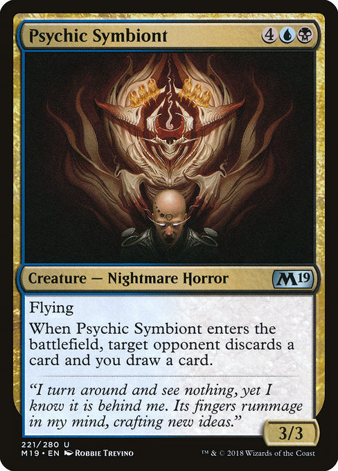 Psychic Symbiont [Core Set 2019]