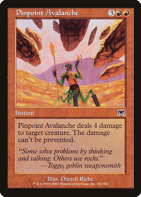 Pinpoint Avalanche [Onslaught] | Guf