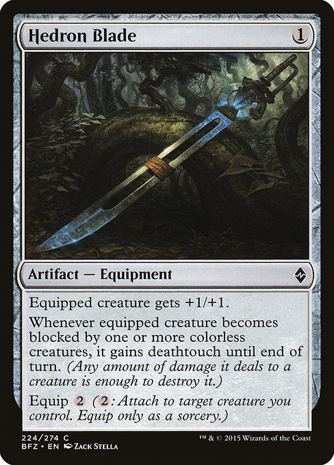 Hedron Blade [Battle for Zendikar] | Guf