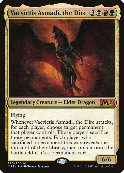 Vaevictis Asmadi, the Dire [Core Set 2019] | Guf