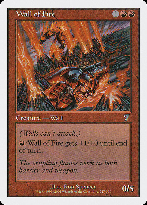 Wall of Fire [Seventh Edition] | Guf
