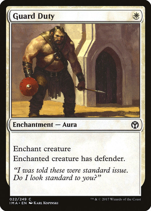 Guard Duty [Iconic Masters] | Guf