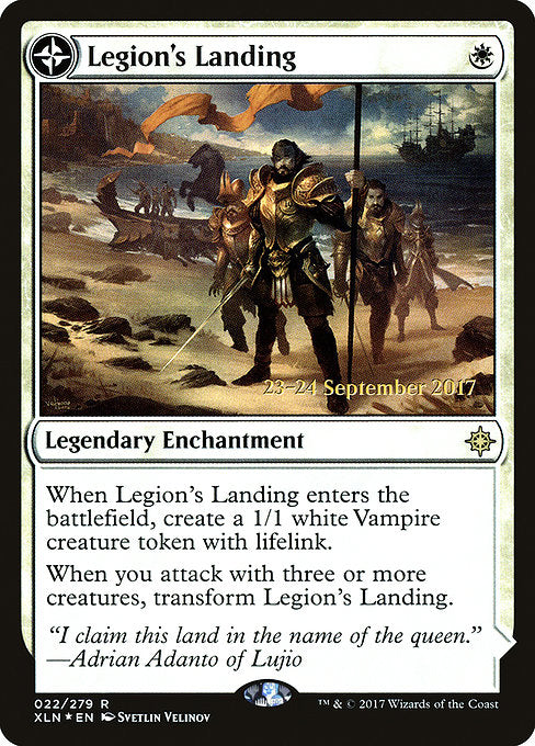 Legion's Landing // Adanto, the First Fort [Ixalan Promos] | Guf