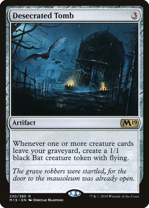 Desecrated Tomb [Core Set 2019] | Guf
