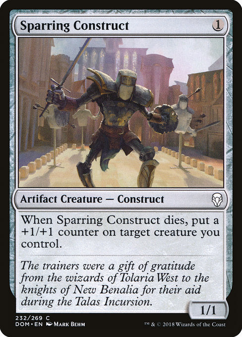 Sparring Construct [Dominaria] | Guf