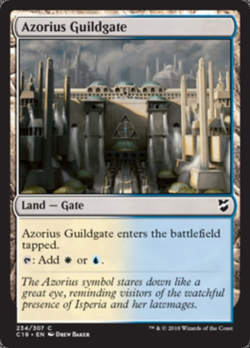Azorius Guildgate [Commander 2018]