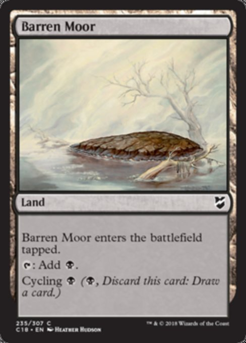 Barren Moor [Commander 2018]