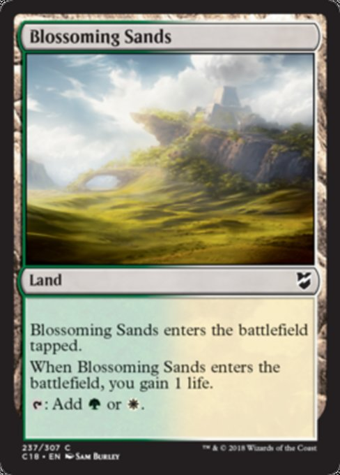 Blossoming Sands [Commander 2018] | Guf