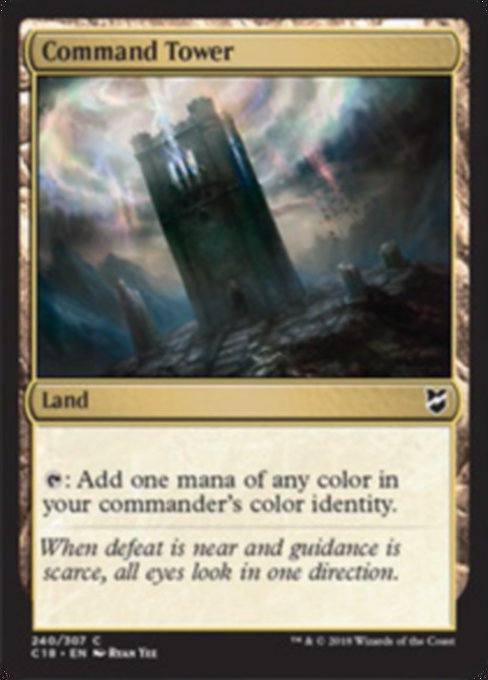 Command Tower [Commander 2018]