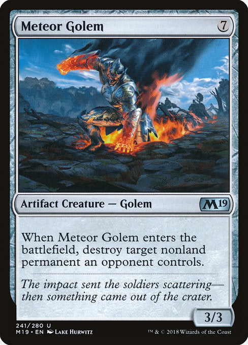 Meteor Golem [Core Set 2019] | Guf