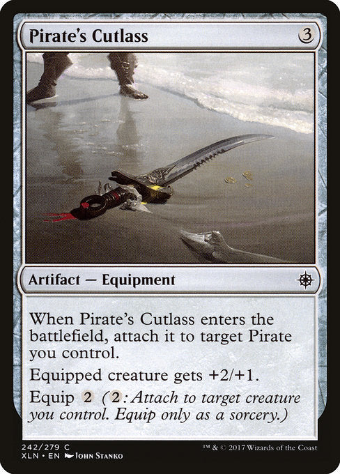 Pirate's Cutlass [Ixalan] | Guf