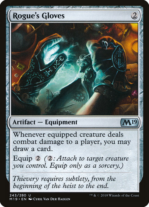 Rogue's Gloves [Core Set 2019] | Guf