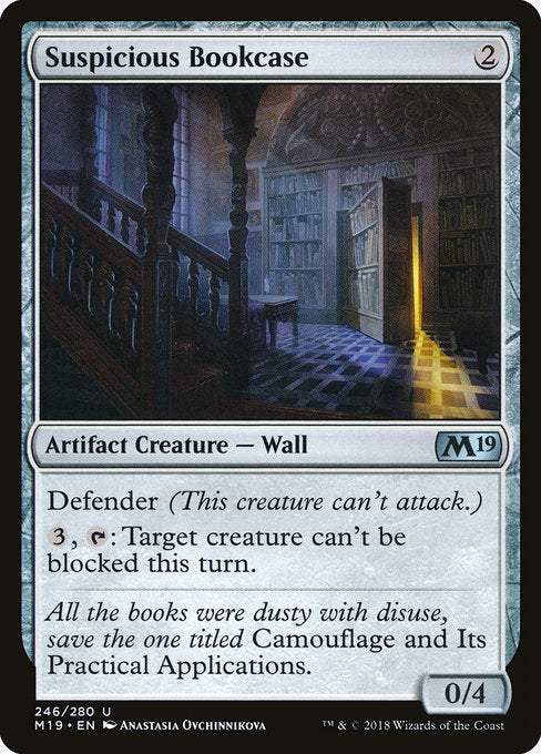 Suspicious Bookcase [Core Set 2019] | Guf