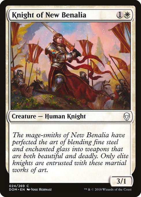 Knight of New Benalia [Dominaria] | Guf