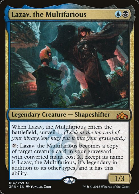 Lazav, the Multifarious [Guilds of Ravnica]