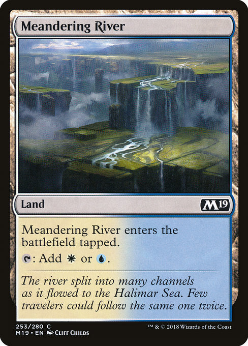 Meandering River [Core Set 2019] | Guf