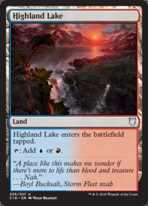 Highland Lake [Commander 2018] | Guf