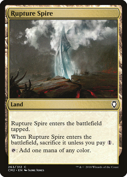Rupture Spire [Commander Anthology Volume II] | Guf