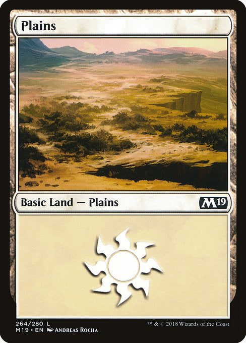 Plains [Core Set 2019]