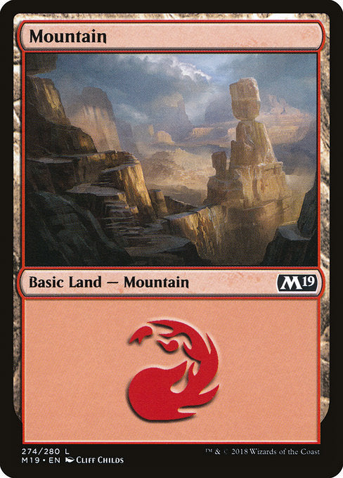 Mountain [Core Set 2019] | Guf