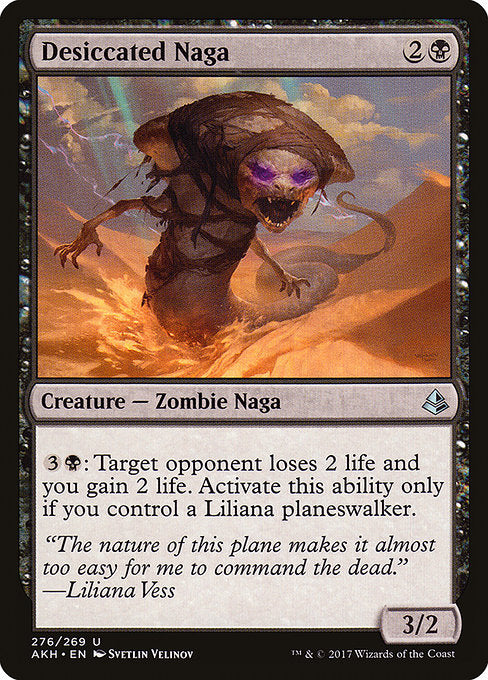 Desiccated Naga [Amonkhet] | Guf