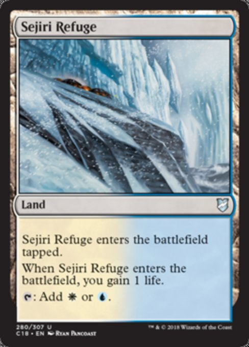 Sejiri Refuge [Commander 2018] | Guf