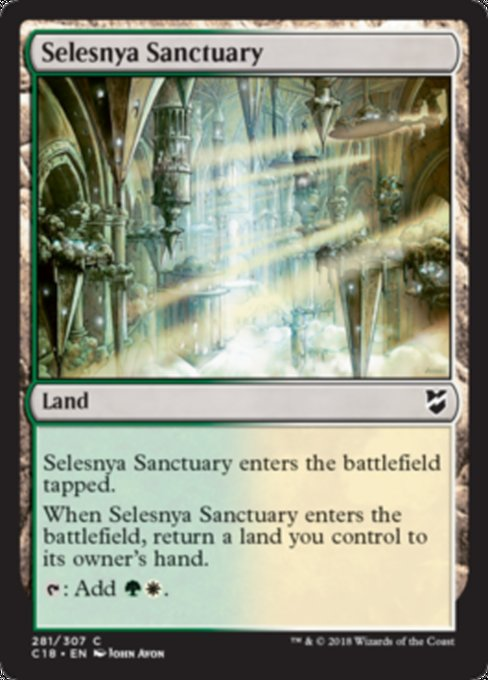 Selesnya Sanctuary [Commander 2018] | Guf
