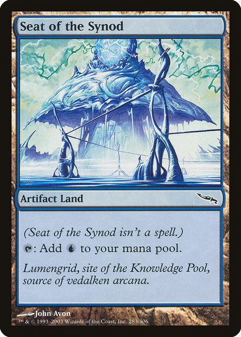 Seat of the Synod [Mirrodin] | Guf