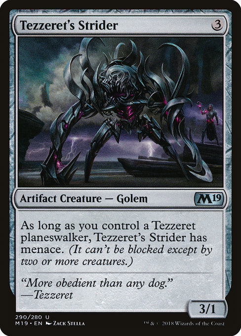 Tezzeret's Strider [Core Set 2019]