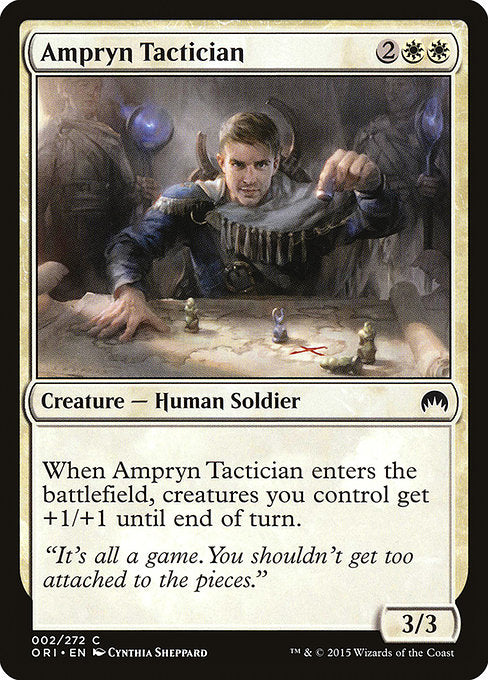 Ampryn Tactician [Magic Origins] | Guf