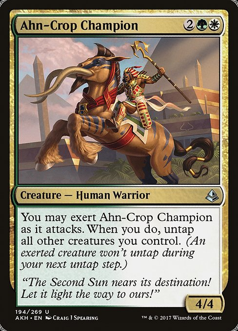 Ahn-Crop Champion [Amonkhet]