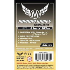 Mayday -  Magnum Space Card Sleeve - 61 X 103 MM | Guf
